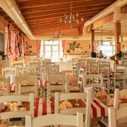 Tische im Restaurant Sole Mio dem Italiener in Leipzig